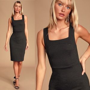 Lulu's Dresses - LULU'S Because I Have You Gray Bodycon Dress